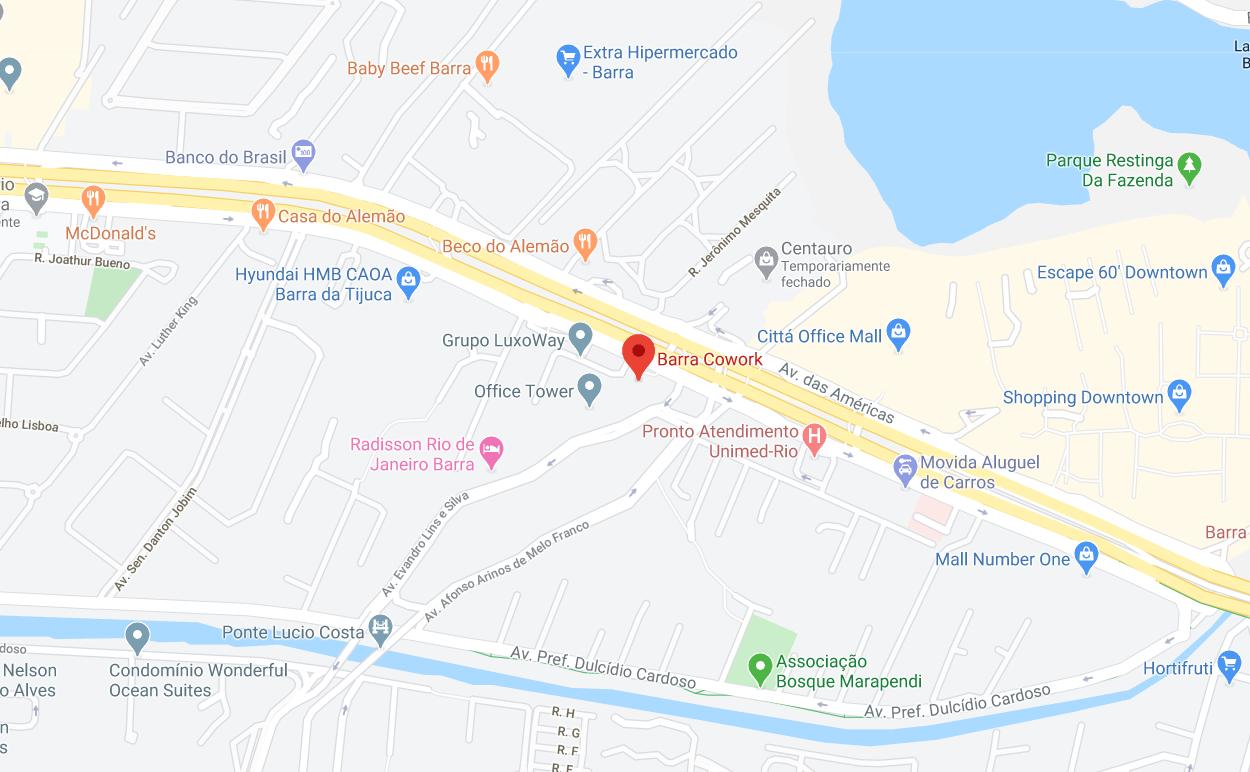 mapa barra cowork