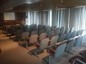Foto do auditório para 70 pessoas